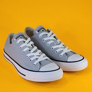 Converse CTAS Low Classic Gray Unisex Sneakers NWT